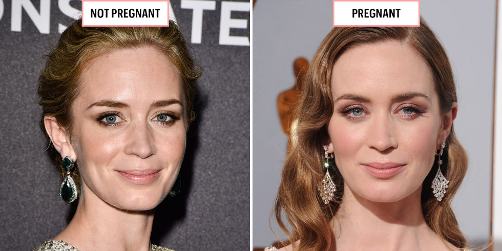 Mirrors Emily Blunt glowing