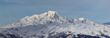 Snow capped Mont Blanc