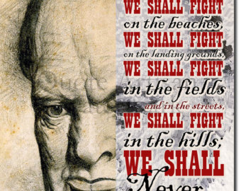Excerpts of Churchill's inspirational and defining speech! June 4th 1940.