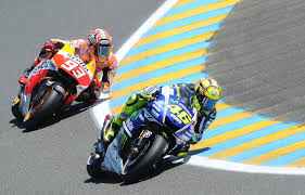 Amore Rossi showing Marquez how