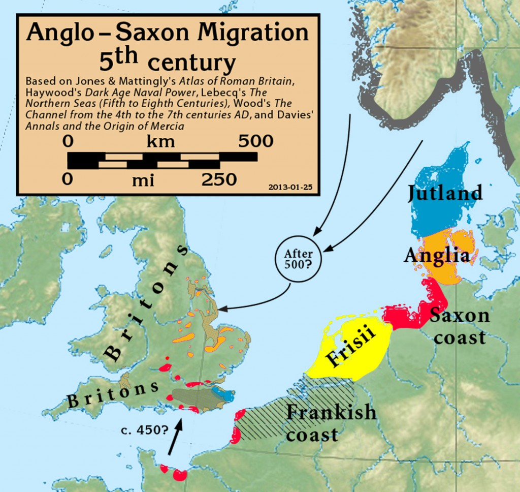 Angles Anglo.Saxon.migration.5th.cen