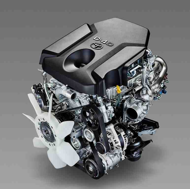 Motoring Fortuner engine