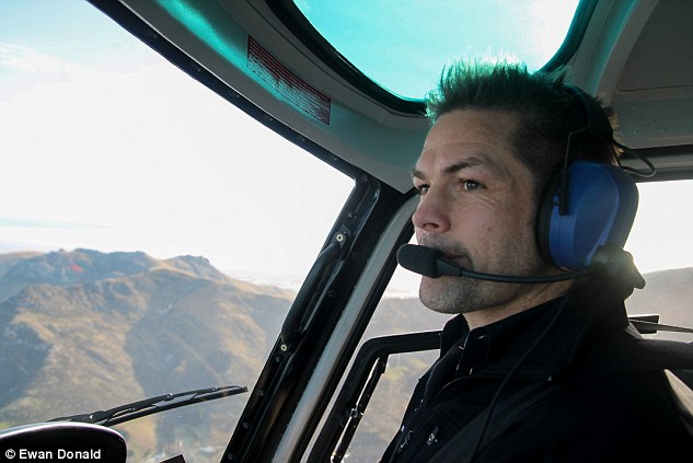 More of Tohora Richie McCaw in Chopper