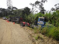 Saving the night Truck Papua New Guinea