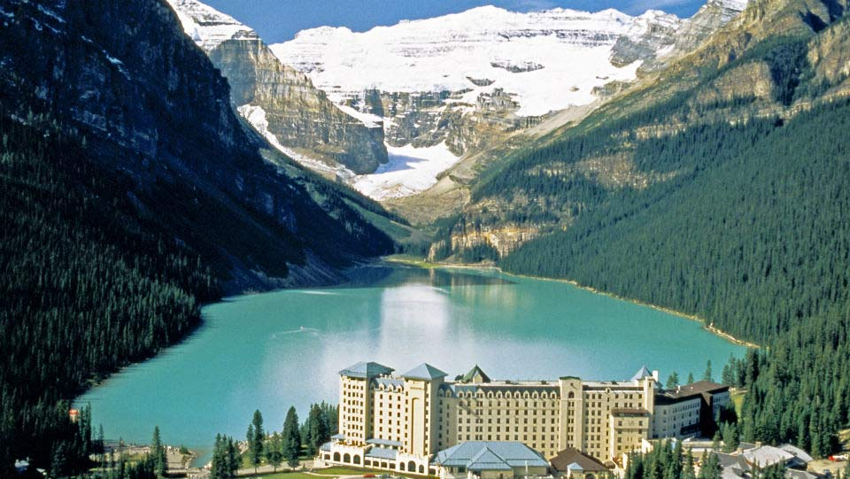 Lake Louise with Fairmont Chateau