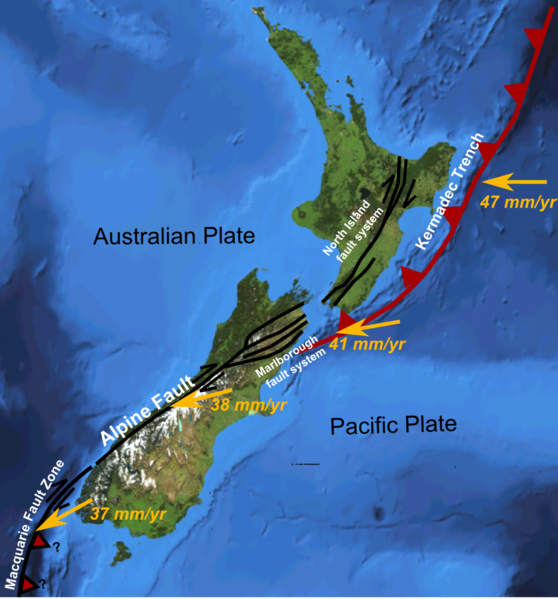 Visions 2 NZ and fault line