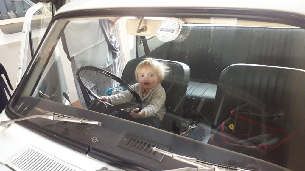 Cortina Shocks Grandson at the wheel